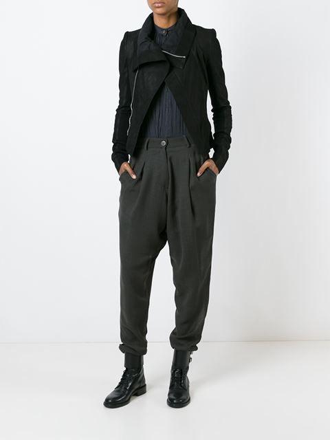 Isabel Benenato зауженные плиссированные брюки