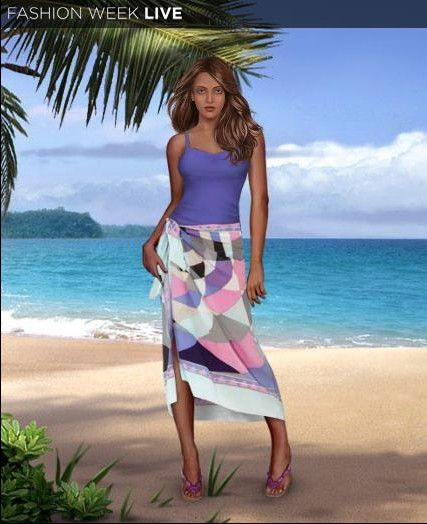Our model is wearing the brand new Spring Lilac Sarong and enjoying the day at the beach! Have you seen the great new items in the shop yet?