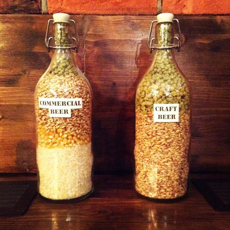 Commercial beer vs craft beer – simple really