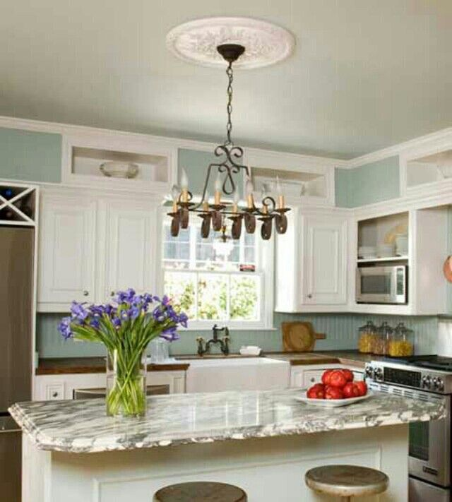 Pin By Reham Hany On Open Shelving: Build A Shelf Into Soffit