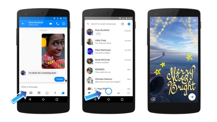 Facebook Messenger: αποκτά κάμερα με ειδικά effects!