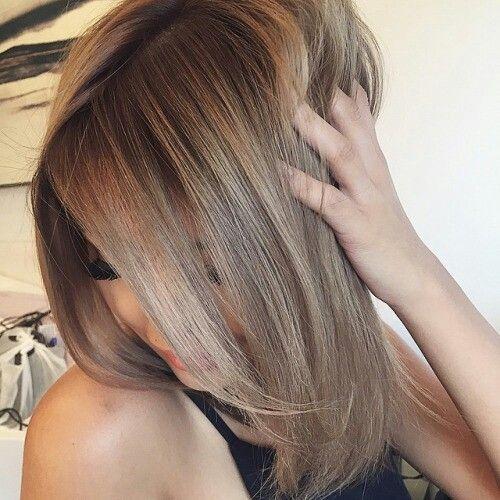 How to Dye Blonde Hair Brown  Bellatory