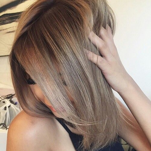 "Cool ""bronde"" brown blonde"
