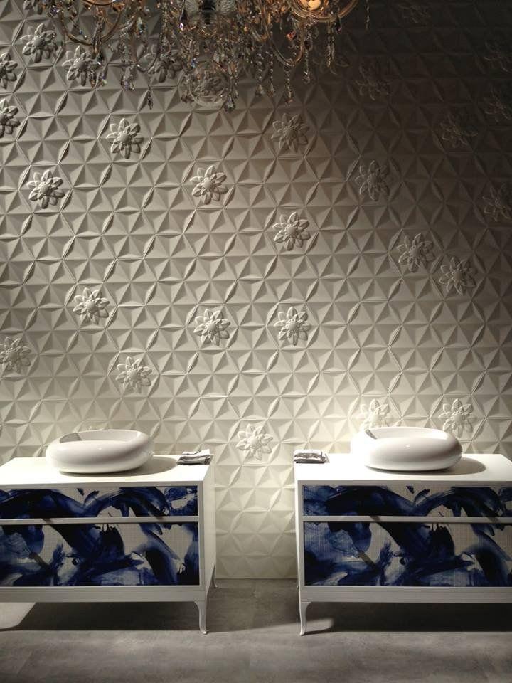 Bisazza at Cersaie 2013 #texture #wall #mosaic