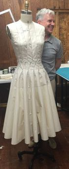 A Master Draping Class.....