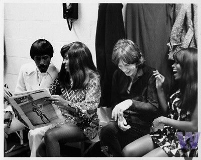 Ike & Tina Turner / Jagger / Marsha Hunt