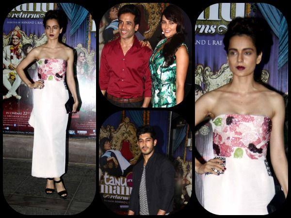 Pics: Bollywood Celebs At Tanu Weds Manu Returns Success Party