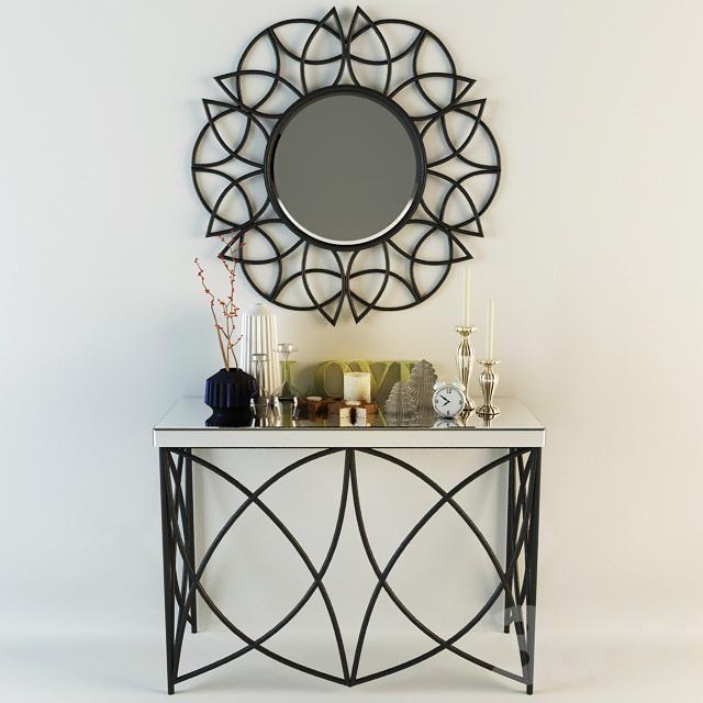 3d модели: Другие предметы интерьера - декоративный набор