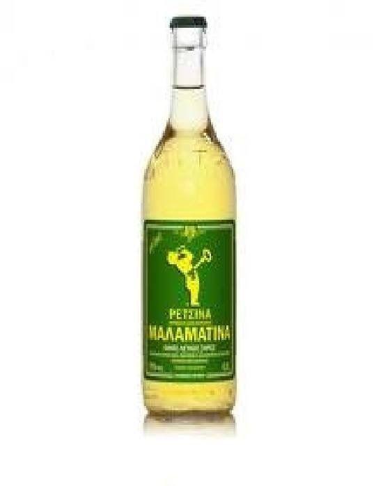 Retsina Malamatina Greek Wine 500ml. A Greek Wine in made in Greece