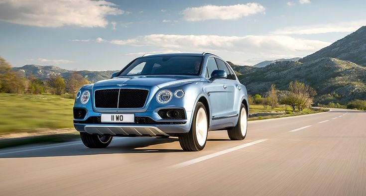 Guilt free? you can no longer saddle the guilt of driving around in a Bentley powered by the thirsty W12 engine, the company's first ever oil-burning machine, the diesel Bentayga, might well put your mind at rest