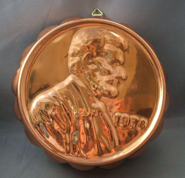 Lincoln Penny Copper Mold Rubylane Com Jello Molds