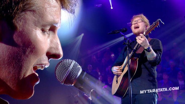 "Ed Sheeran / James Blunt ""Sacrifice"" (Elton John) (2017) ----------------------------------------------------- TARATATA N°513 - 02/2017 Ed Sheeran, James Bl..."