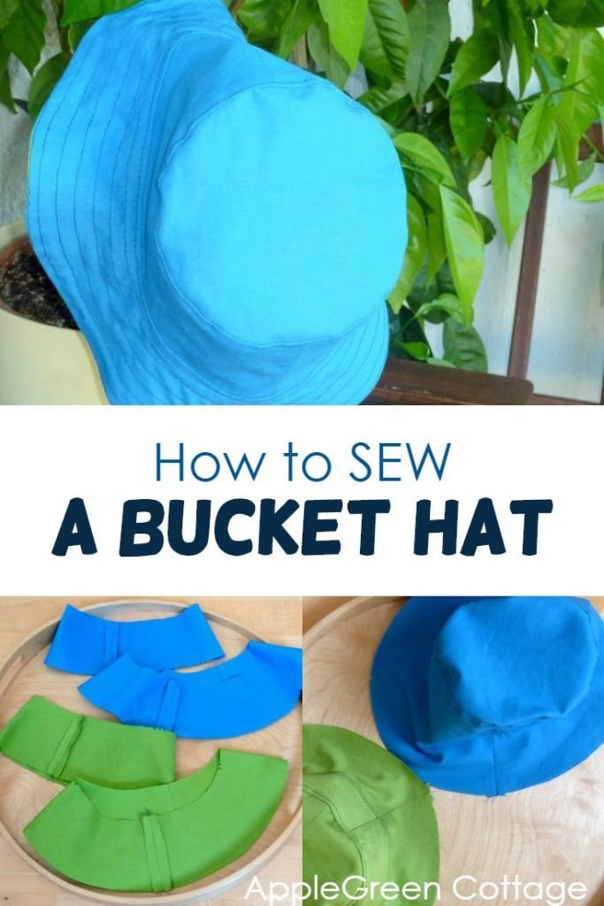 How To Sew A Bucket Hat Pattern Applegreen Cottage Hat Patterns To Sew Sewing Projects Clothes Cute Sewing Projects