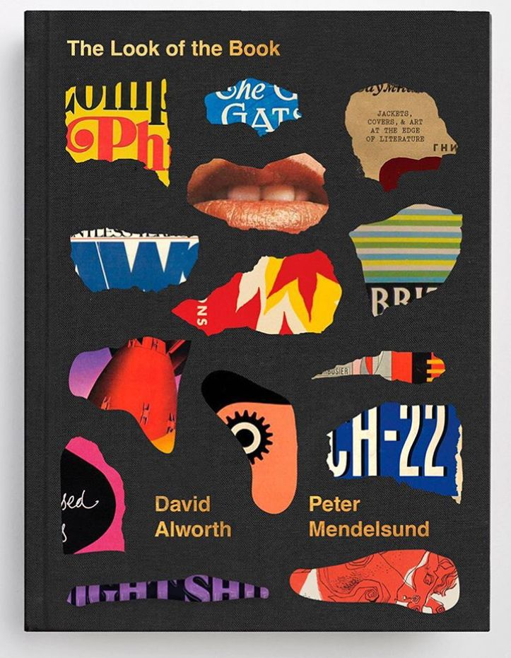 the look of the book jackets covers and art at the edges of literature