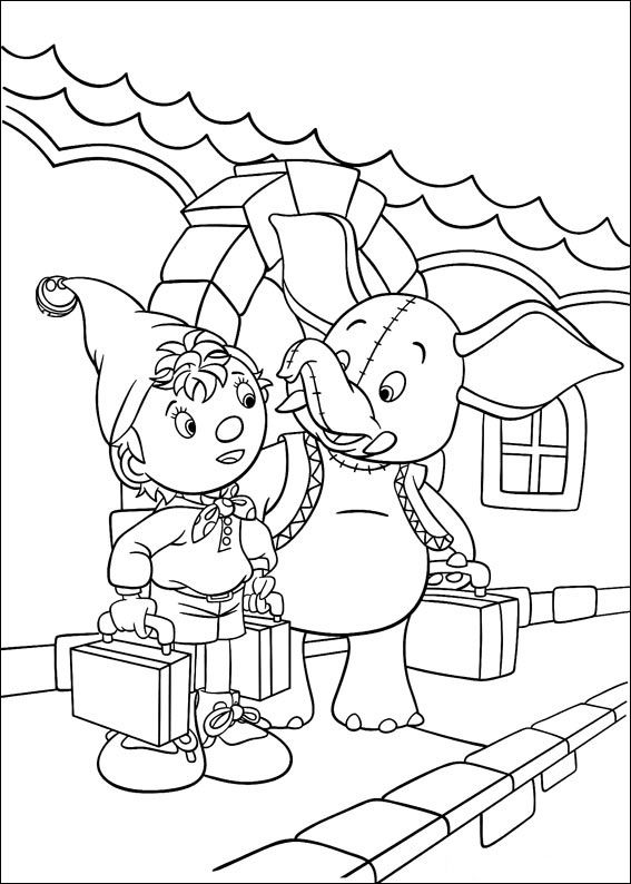 130 Coloring Pages : 32 best noddy images on pinterest