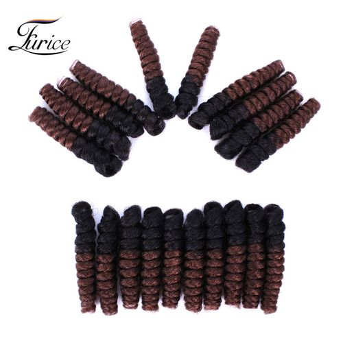 Short Tapered Cut Natural Hair Crochet Hair Extensions crotchet braids