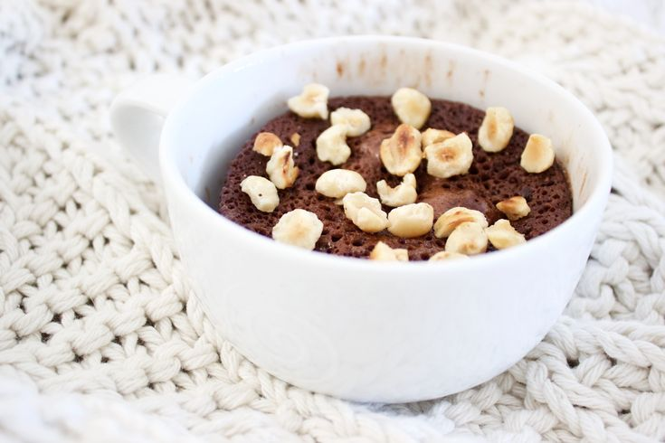 Healthy Girl Chocolate Mug Cake Recipe
