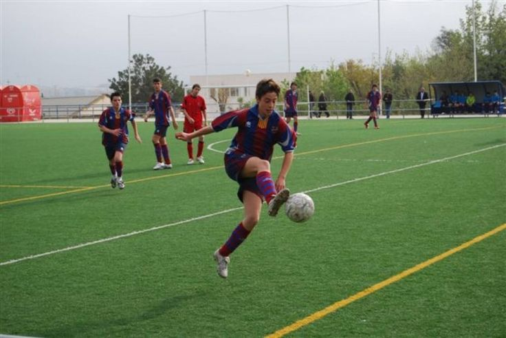 @Levante youth team practicing #9ine