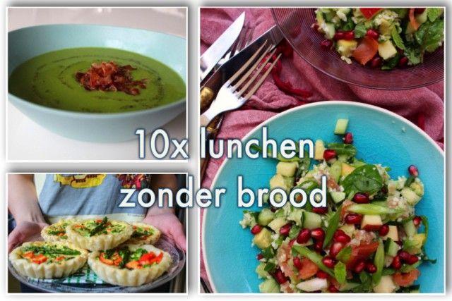 10x lunchen zonder brood | eethetbeter.nl