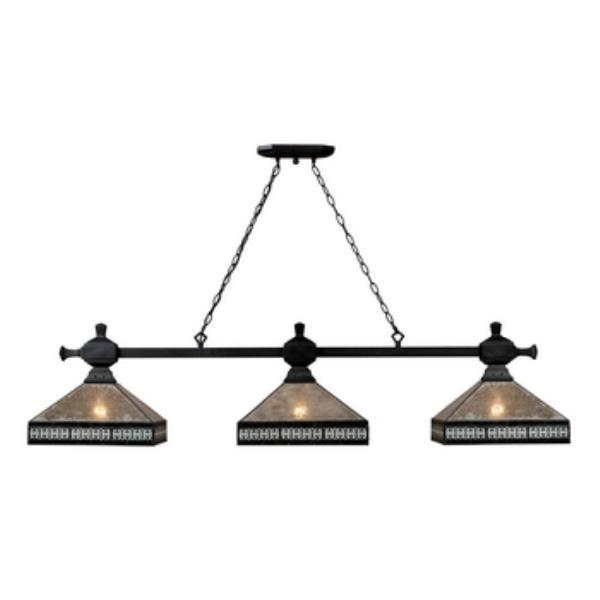Landmark lighting 70061 3 mica filagree three light island height 14 00