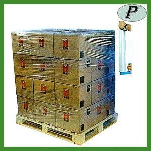 Film extensible para envolver palets o proteger envases, para ser transportados de manera segura. Más información: http://www.tplanas.com/epis/material-de-envasado-y-embalaje/388-film-estirable-extensible-para-embalajes.html