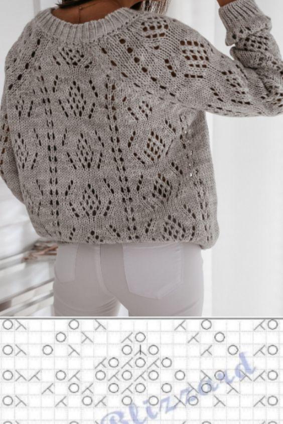 французское вязание спицами схемы