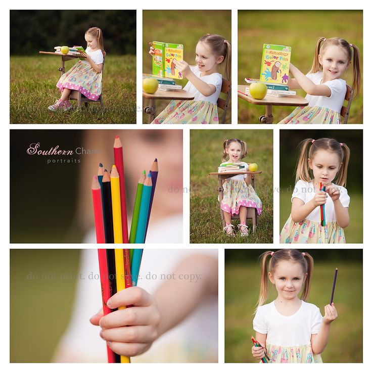back to school would be a great idea for someone first starting school!