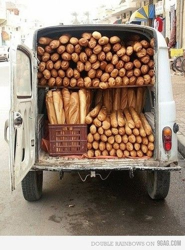 A traditional bread van in Malta :-)) not many of these left these days !   www.azure.com.mt