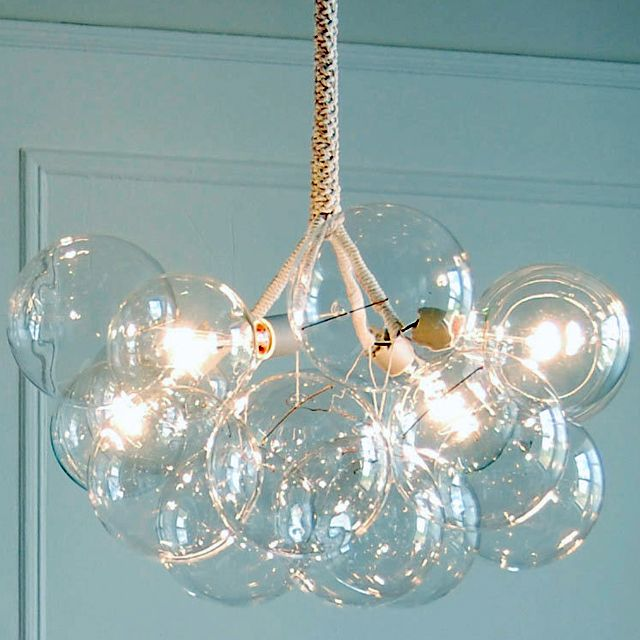 very cool: Dining Rooms, Lights Fixtures, Interiors, X Large Bubbles, Bubbles Chandeliers, Bubble Chandelier, House, Bubbles Lights, Xlarge