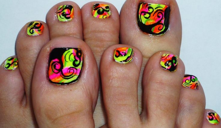 Pictures Of Nail Designs For Toes