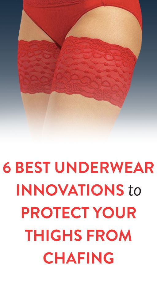 6 Best Underwear Innovations To Prevent Your Thighs From Chafing