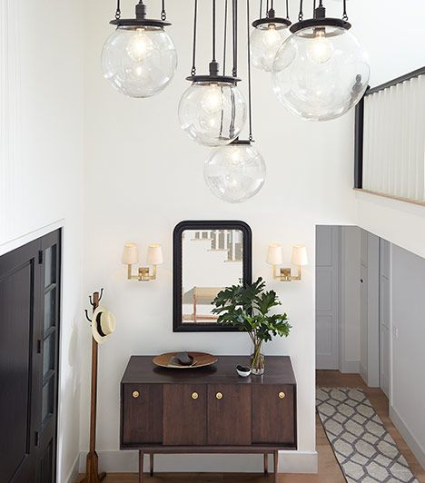 Hood Light Fixtures With Classic Globe Shades, Kelley