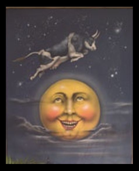 And the cow jumped over the moon.