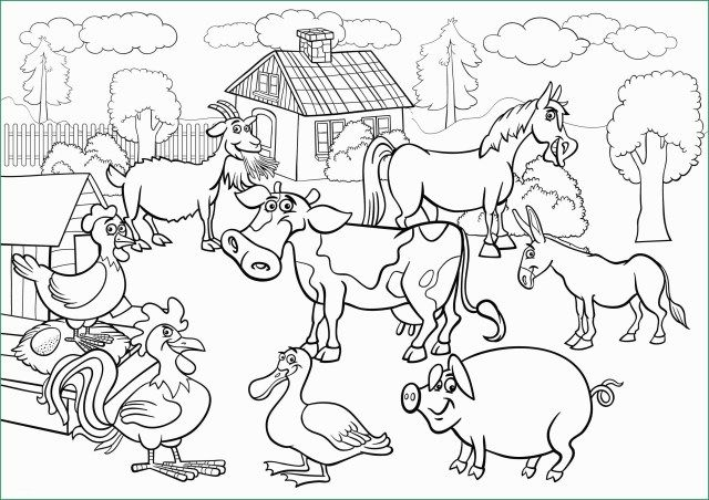 25 Inspiration Picture Of Farm Animals Coloring Pages Albanysinsanity Com Farm Animal Coloring Pages Animal Coloring Pages Farm Coloring Pages