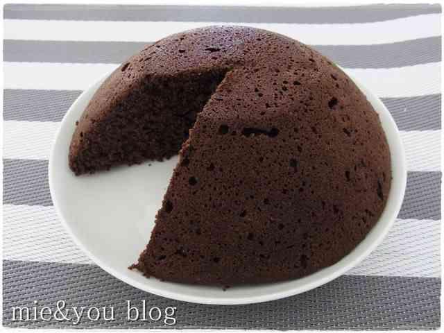 簡単おからパウダーレンジケーキノンオイルの画像