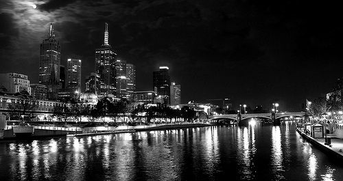 Moonlit in Black and White | Flickr - Photo Sharing!
