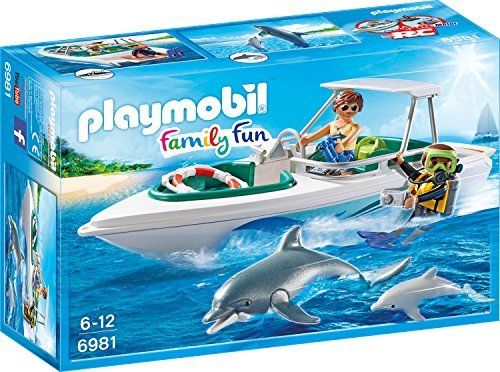 PLAYMOBIL 6981 - Tauchausflug mit Sportboot, Spielzeugfigur