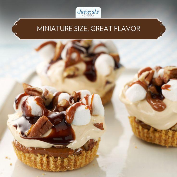 Turtle S'More Cheesecake Minis | Recipe | Cream cheeses, Cheesecake ...