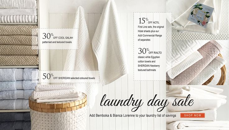 Laundry Day SALE: Add Bemboka & Bianca Lorenne to your laundry list of savings. SHOP NOW