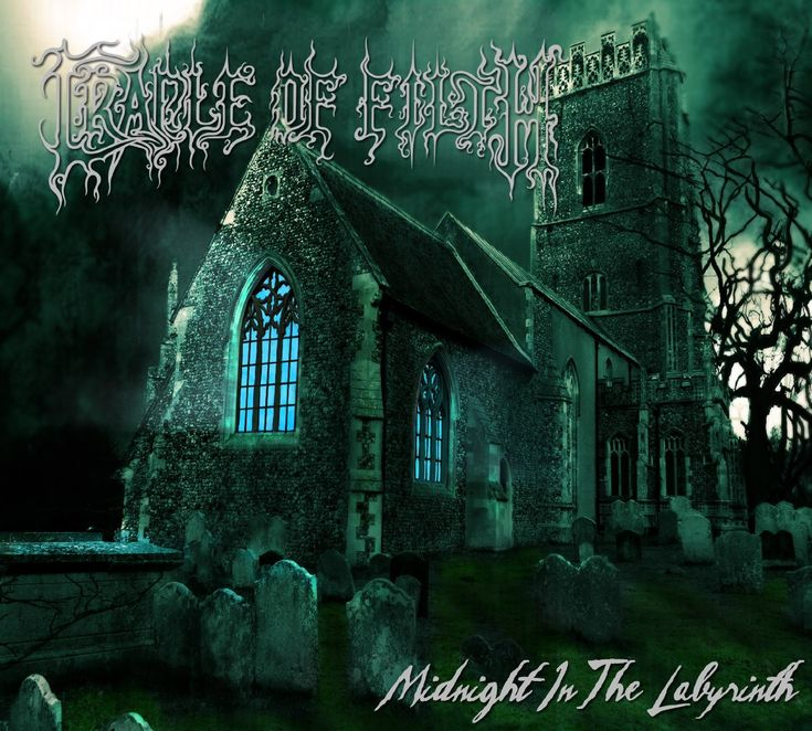 Cradle Of Filth - 2012 - Midnight in the Labyrinth