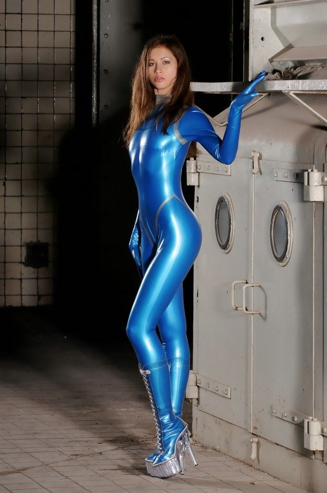 845 Best Catsuit Images On Pinterest Latex Outfit Sexy