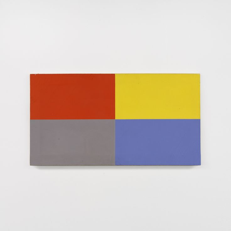Red/Blue/Yellow/White Flag Painting | Peter Joseph | Artists | Lisson Gallery