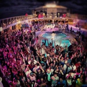 The Groove Cruise boat party 2014 Miami - night pool party