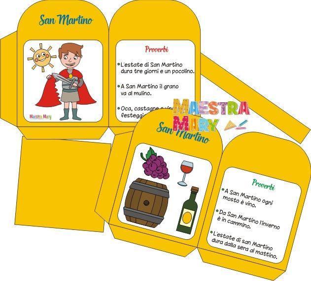Lanterna Di San Martino Martini Lanterne Lavoretti Per Bambini