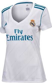 2017/18 adidas Real Madrid Women's Home Jersey. Hot at SoccerPro.
