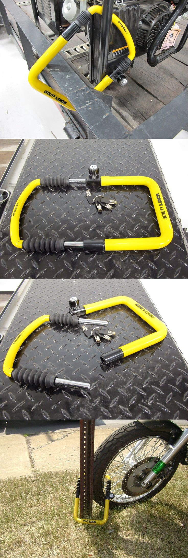 Need some ideas for storing and securing your property safely? This is an awesome accessory for preventing theft of your motorcycle, equipment and mid-size gear. The adjustable length provides a snug fit and is coated with non-scratch vinyl - a great sized lock for a variety of tools and gear.