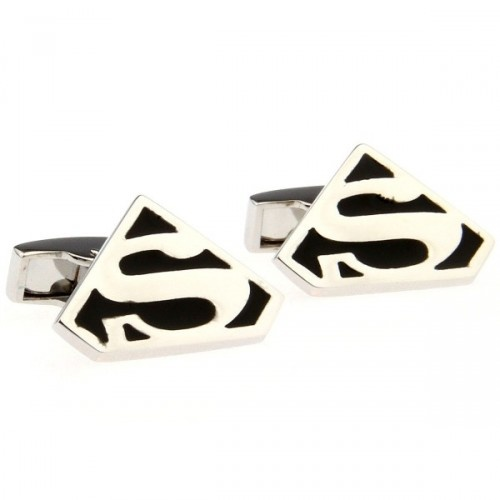 Funny Superman Cuff Links
