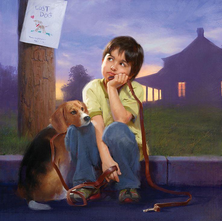 Картинки приколы, прикольные рисунки человека с собакой