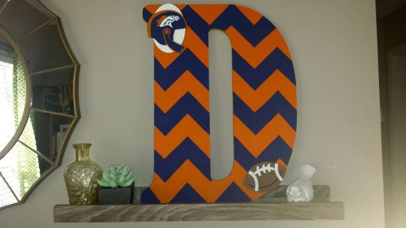 Denver Broncos Team Colors Customized by GildedEdgeDesigns on Etsy