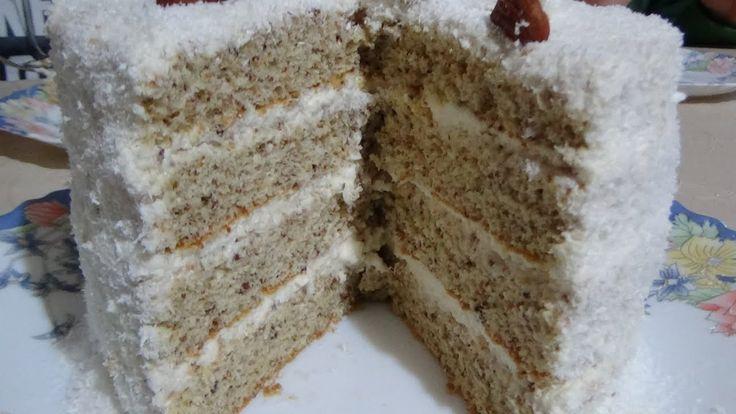 """Рецепт торта """"Рафаэлло"""" Нереально вкусный кокосовы торт! Raffaello Cocon..."""